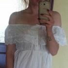 sukienka letnia haftowana koronka italy