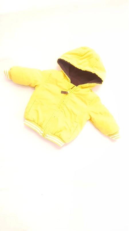 Kurtka żółta