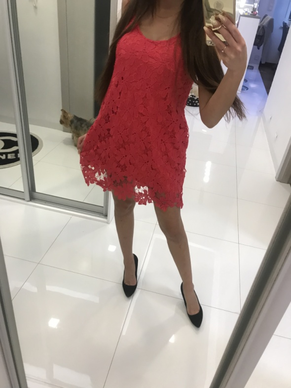 Suknie i sukienki Sukienka z kolardą
