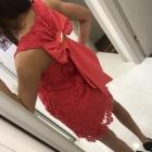 Sukienka z kolardą