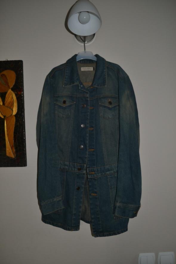 Terranova jeansowa katanka długa S M...