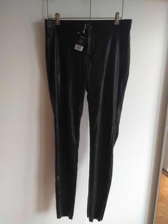 Spodnie skórzane 40