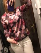 pikowana bluza w róże AMISU floral print...