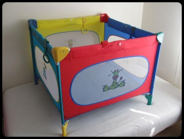 łóżeczko ARTI kojec 100 cm x 100 cm niezniszczone