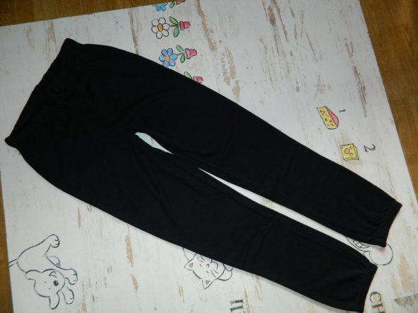 Meli Melo spodnie dresowe CZERŃ roz 150