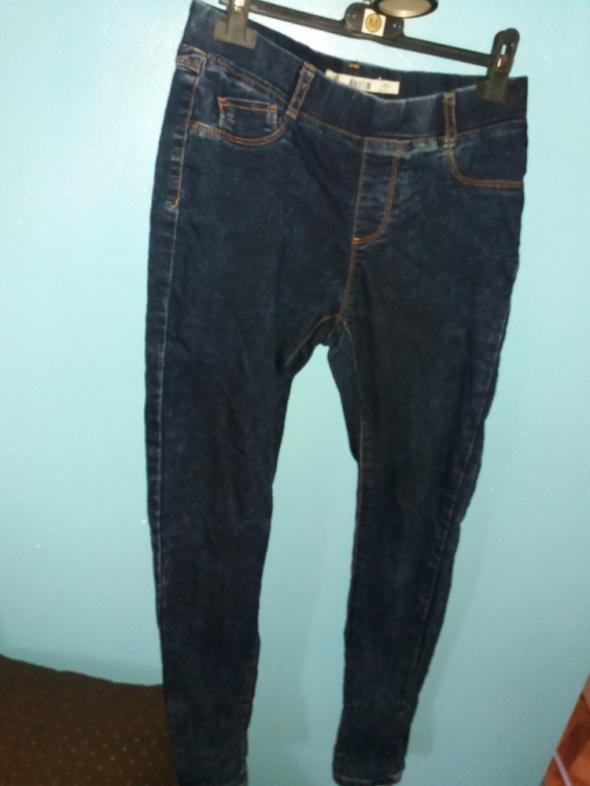 Tregginsy damskie jeansowe...