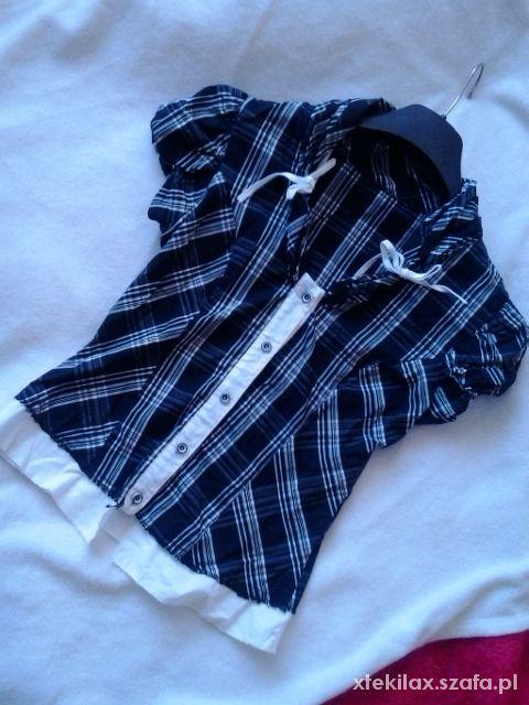 Bluzki Piękna romantyczna bluzeczka S 36