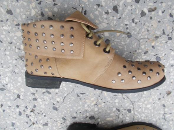 buty wiosenno jesienne z dżetami