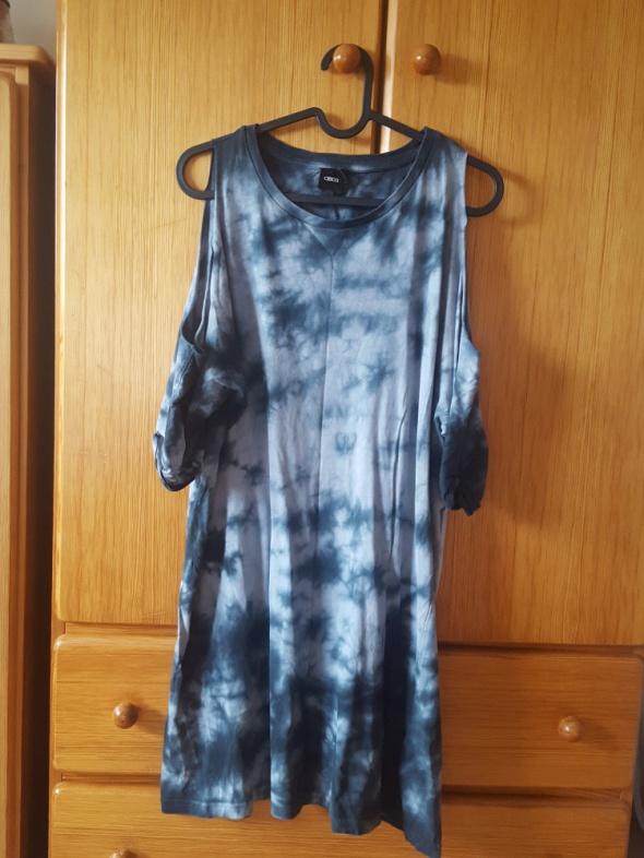 Tunika sukienka asos 40 odkryte ramiona...