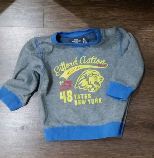 Bluzy Bluza H&M dla chłopca 74