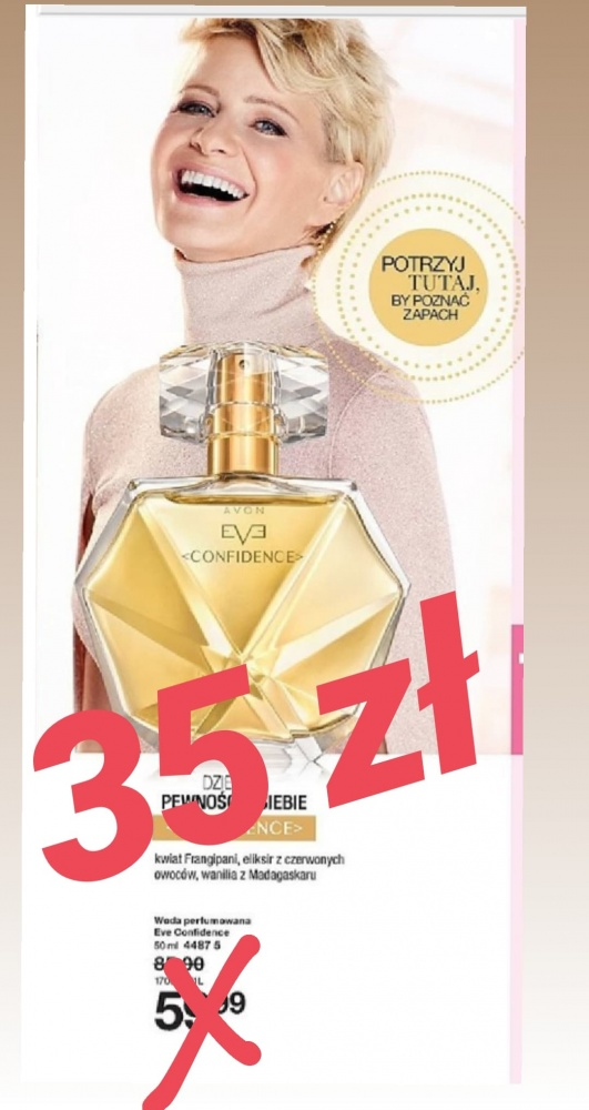 Avon confidence 50ml