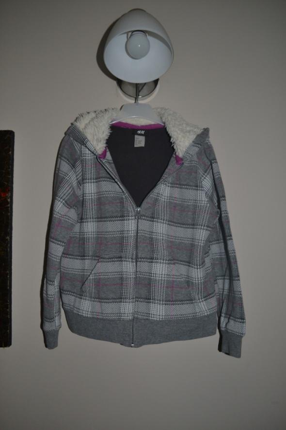 Bluzy Bluza H&M miś 122cm 128cm 7 8 lat