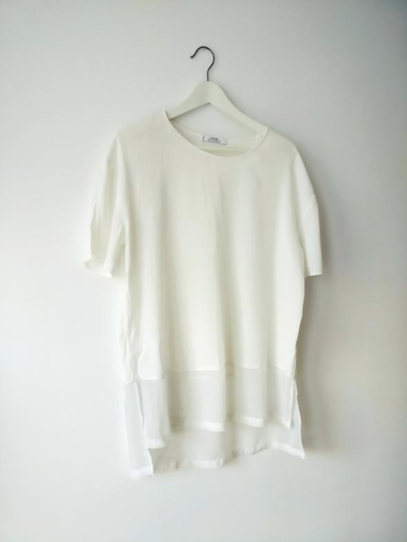 Biała tunika Mango S M minimalizm