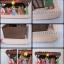 Duża SZOPKA Bożonarodzeniowa drewno sianko 49 x 28 cm