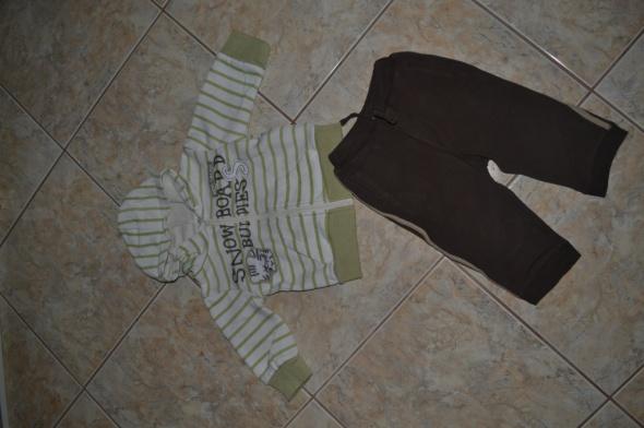 Komplety Komplecik Bluza i Spodnie 74cm 6 9mc George