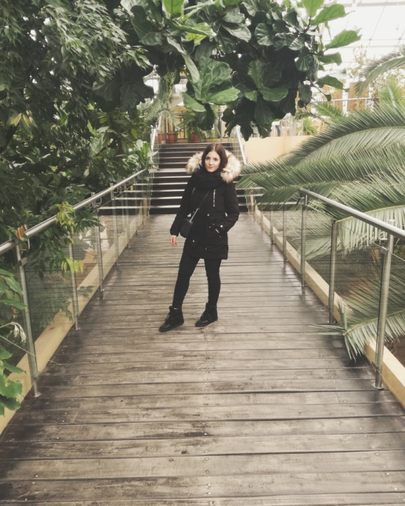 Blogerek Czarny zimnowy zestaw