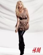 Sukienka nude beżowa H&M Anja Rubik...