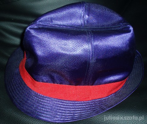 kapelusz damski w srodku panterka colours beauty