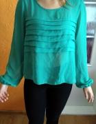 Zielona koszula z długim rękawem 38...