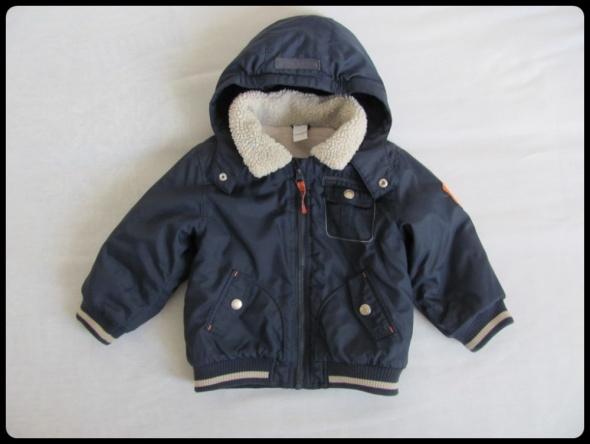 Ciepła kurtka zimowa na 12 18 miesięcy rozmiar 86