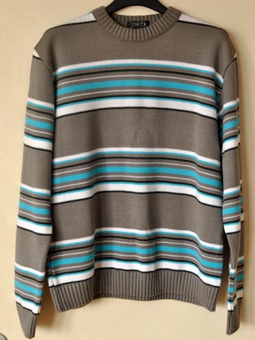 Sweter w paski L...