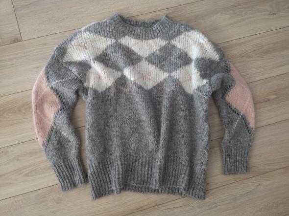 Reserved sweter romby kol 2018 rozm M L