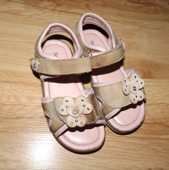 Sandałki dziewczęce Barenschuhe 27