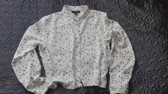 Koszula biala gwiazdki XXL