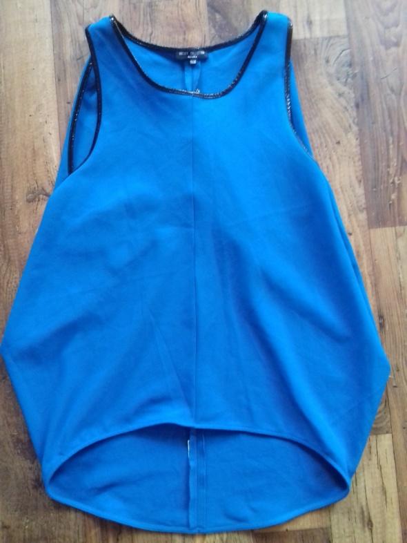Niebieska bluzko tunika bershka...