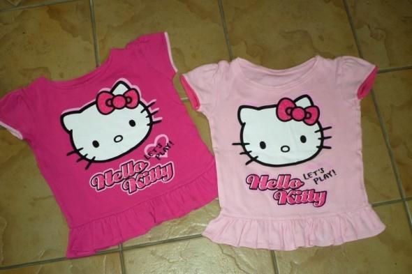 rozm 116 Hello Kitty dwie bluzeczki