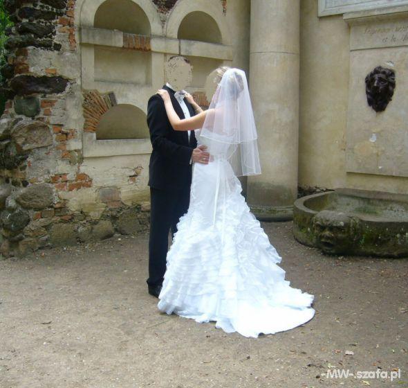 Biała suknia ślubna HISZPANKA SYRENKA sposabella