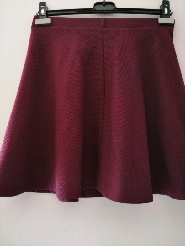 Spódnice Rozkloszowana elegancka spódnica New Look 36 S burgund