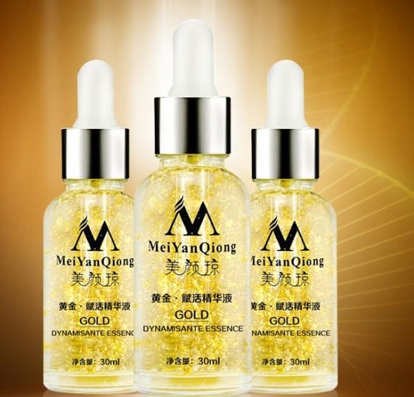 Serum do twarzy z 24K złotem MeiYanQiong