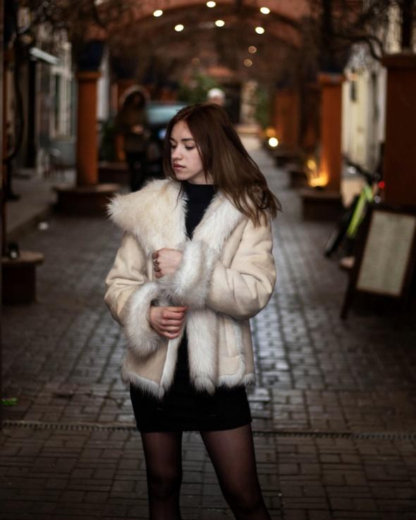 Eleganckie Fur Coat