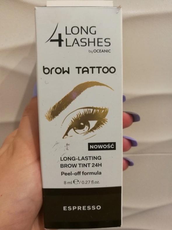 Long4lashes brow tattoo espresso