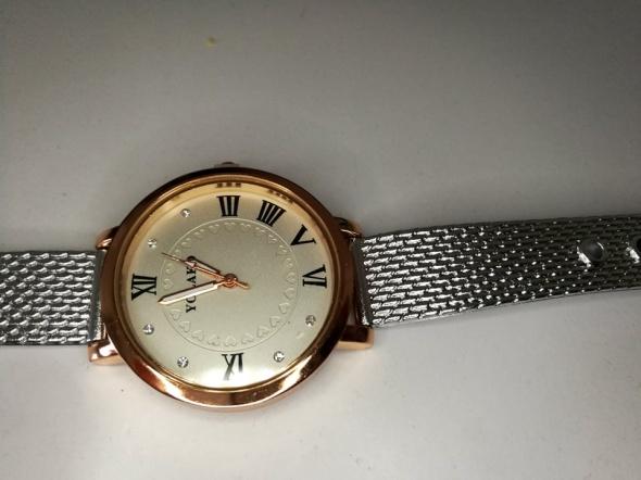 Nowy damski zegarek srebrny pasek