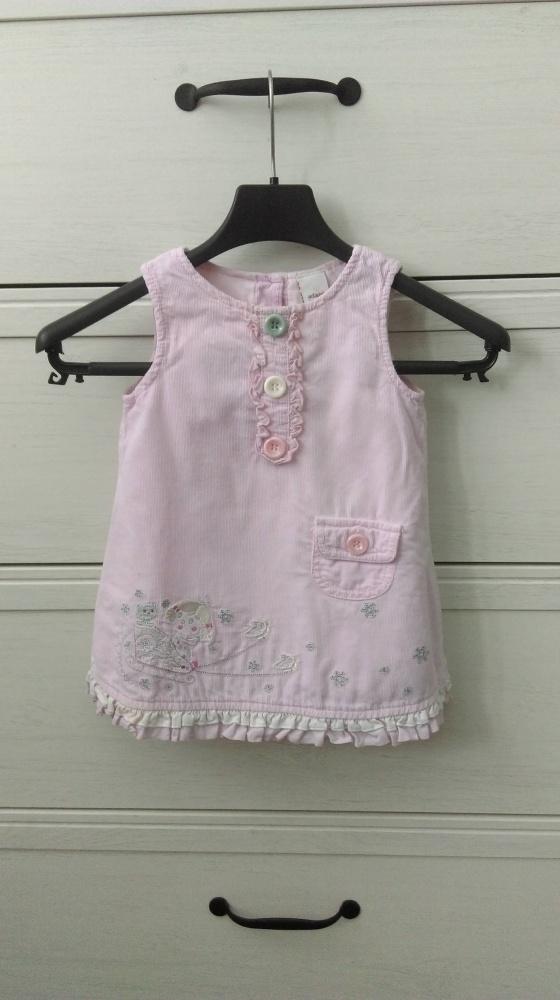 Różowa sukienka 74