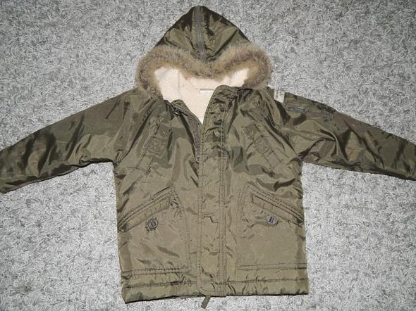 ocieplana kurtka khaki