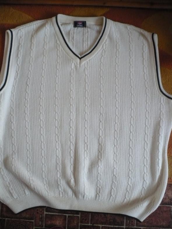sweter męski xxl i kamizelka