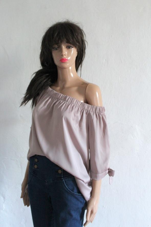 Beżowa bluzeczka hiszpanka r 46