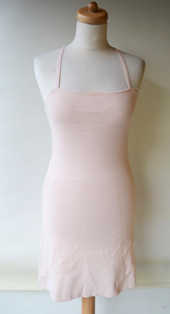 Sukienka Różowa Róż NOWA Bershka M 38 Pudrowa...
