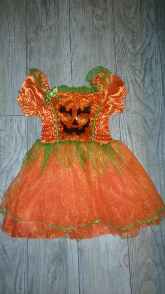 Sukienki i spódniczki Sukienka dynia rozm 98 104