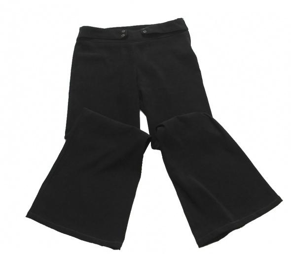 Czarne spodnie wizytowe 146 152