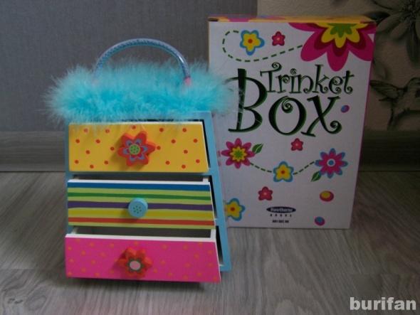 Zabawki MAGIC BOX KOMODKA PUDELKO SZKATULKA BIZUTERIA