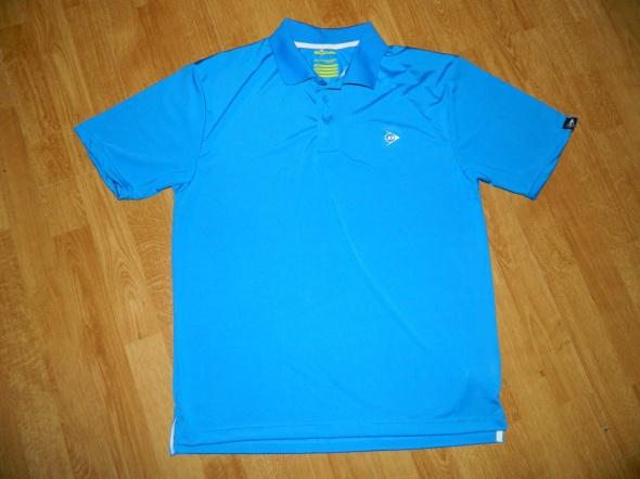 DUNLOP koszulka polo niebieska roz L