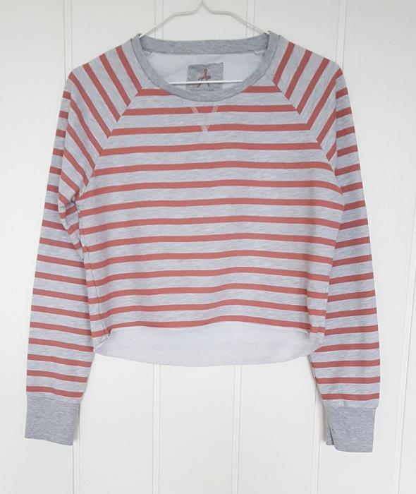 Sportowa bluza Atmosphere Primark XXL 44 crop top krótka pasy ł...