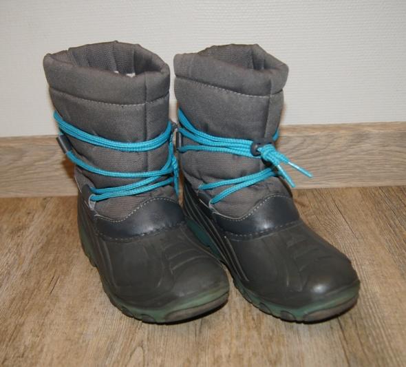 Buty buciki chłopiec kozaki świecąca podeszwa rozm 30