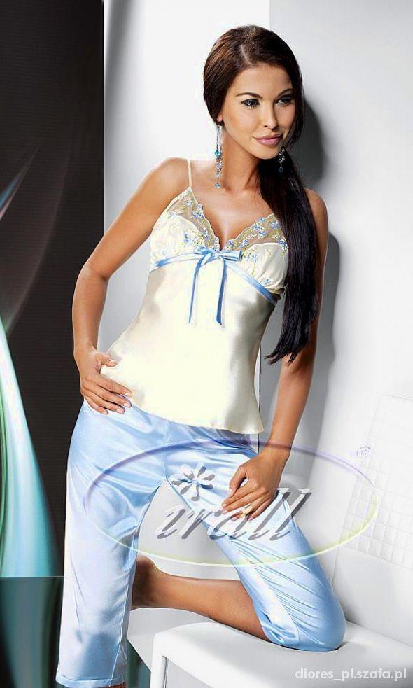 Satynowa piżama damska S M L XL
