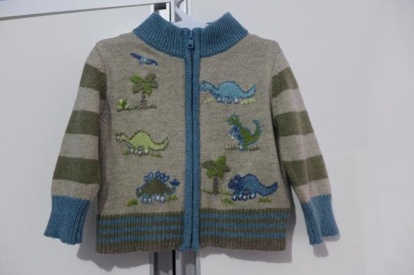 Śliczny sweterek Monsoon 3 do 6 mcy rozm 6268