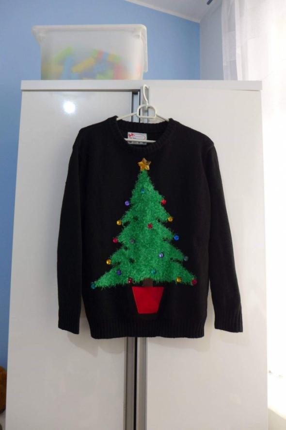 Śliczny świąteczny sweterek Atmosphere rozm S...